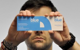 Blue Horizon Business Card