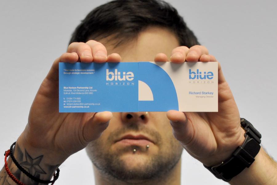 Blue Horizon Business Card